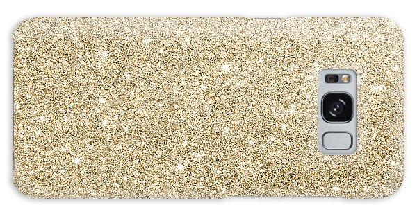 Gold Glitter Galaxy Case