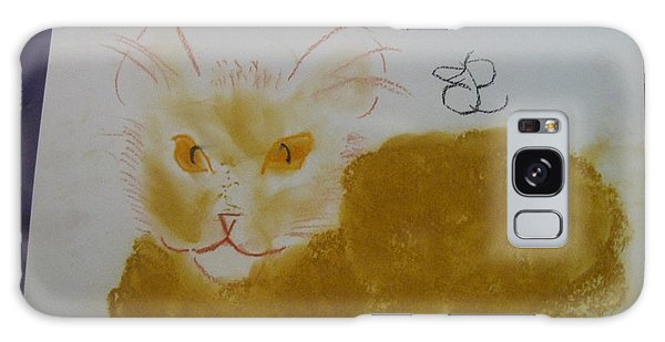 Golden Cat Galaxy Case