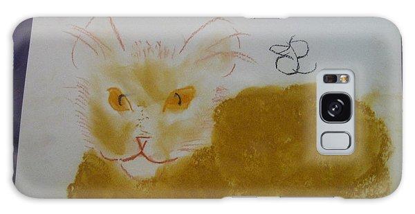 Golden Cat Galaxy Case