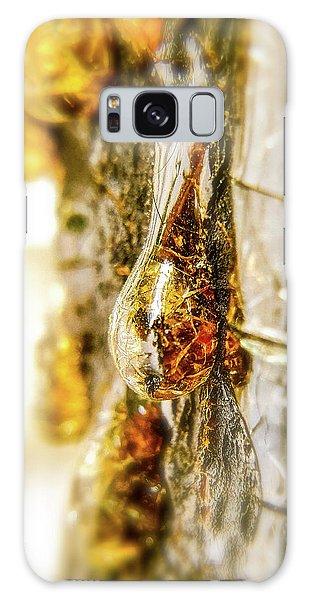 Golden Drop Galaxy Case