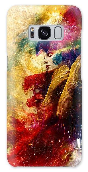 Nightmare Galaxy Case - Golden Gloom by Mario Sanchez Nevado