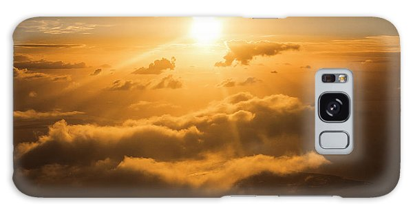 Bright Sun Galaxy Case - Golden Glow by Jorgo Photography - Wall Art Gallery