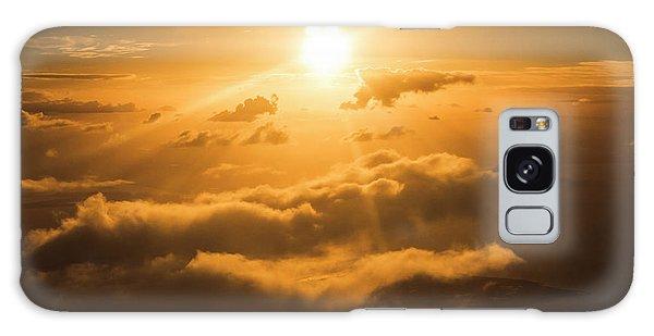 Cloudscape Galaxy Case - Golden Glow by Jorgo Photography - Wall Art Gallery