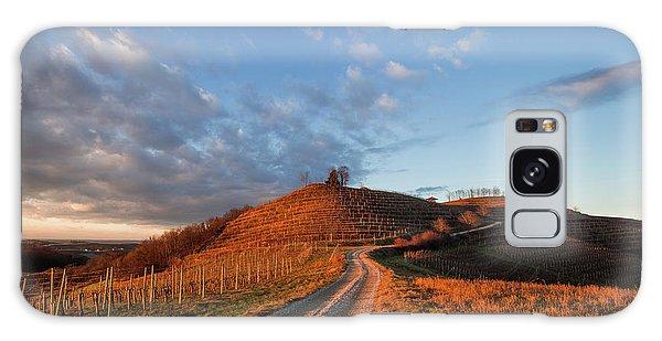 Galaxy Case featuring the photograph Golden Hill by Davor Zerjav