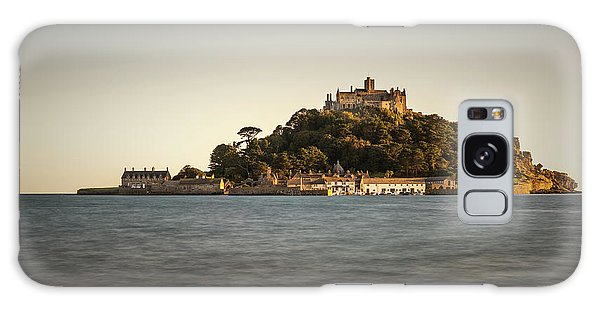 Golden Hour At St Michael's Mount Galaxy Case