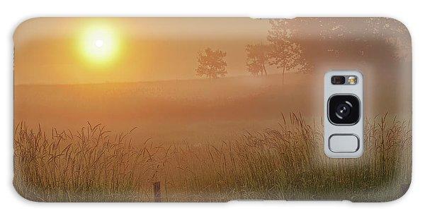 Golden Morning Galaxy Case