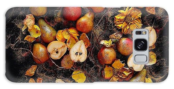 Golden Pear Tree Galaxy Case