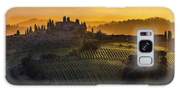 Golden Tuscany Galaxy Case