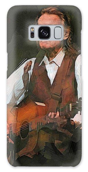 Folk Singer Galaxy Case - Gordon Lightfoot by Mal Bray