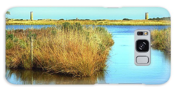 Galaxy Case featuring the photograph Gordon's Pond State Park Panorama by Bill Swartwout Fine Art Photography
