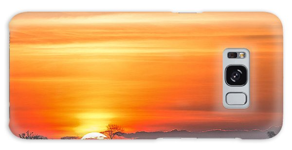 Dawn Galaxy Case - Gorgeous African Sunset In Kruger by Stephen Lew