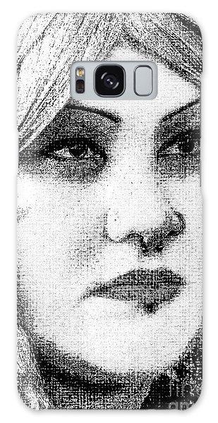 Goth Headshot Galaxy Case