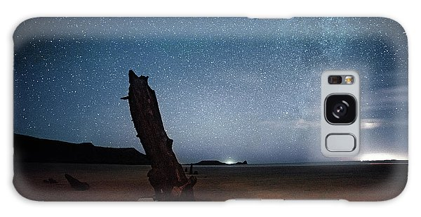 Gower Helvetia At Night  Galaxy Case