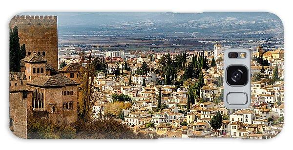 Granada And La Alhambra Galaxy Case