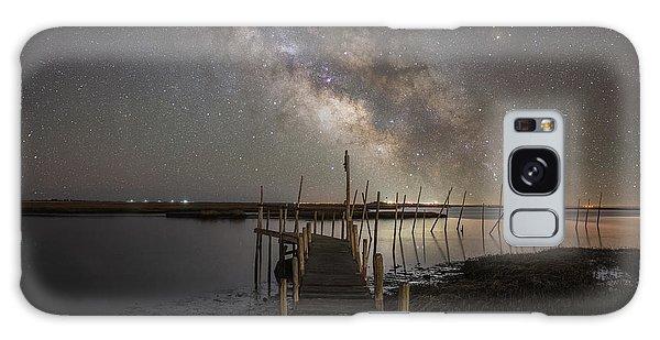 Board Walk Galaxy Case - Grand Bay Milky Way  by Michael Ver Sprill