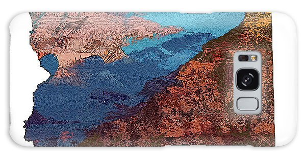 Grand Canyon In The Shape Of Arizona Galaxy Case
