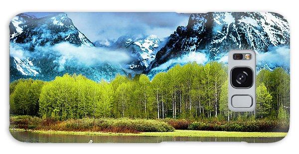 Grand Teton National Park Galaxy Case