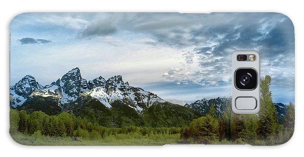 Teton Range Galaxy Case - Grand Tetons Mountain by Jon Glaser
