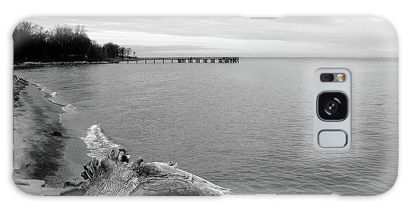 Gray Day On The Bay Galaxy Case
