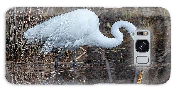 Great Egret In Breeding Plumage Dmsb0154 Galaxy Case