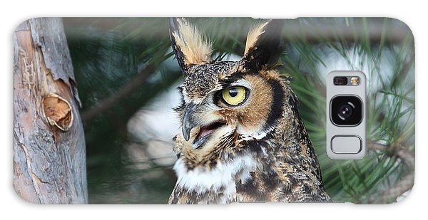 Great Horned Owl 5151801 Galaxy Case