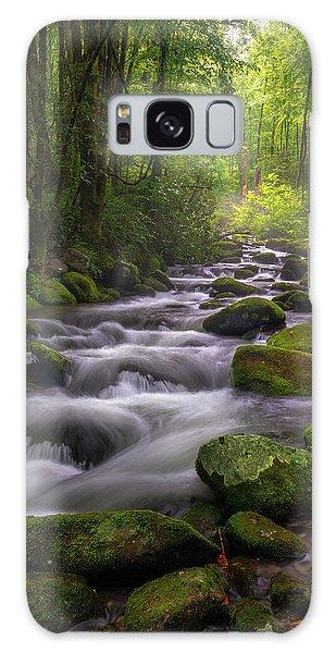 Great Smoky Mountains Gatlinburg Tennessee Galaxy Case