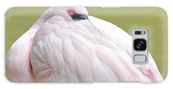 Galaxy Case - Greater Flamingo by A Gurmankin