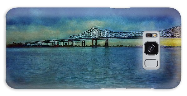 Greater New Orleans Bridge Galaxy Case