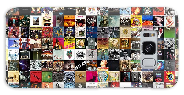 Metal Galaxy Case - Greatest Rock Albums Of All Time by Zapista Zapista