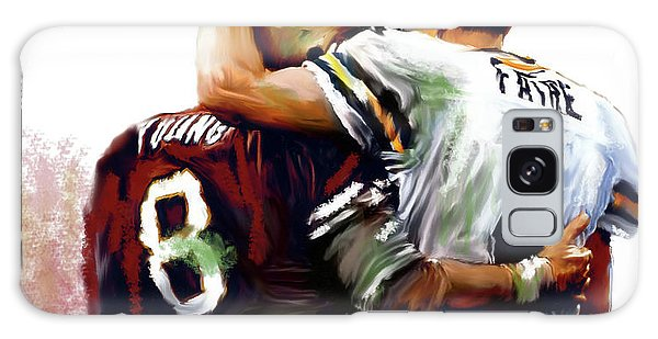 Greatness  Brett Favre And Steve Young  Galaxy Case