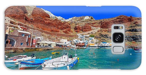 Marina Galaxy Case - Greece Santorini Island In Cyclades by Korpithas