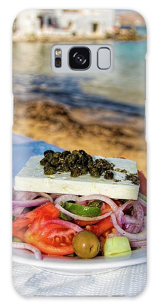Outdoor Dining Galaxy Case - Greek Salad by David Smith