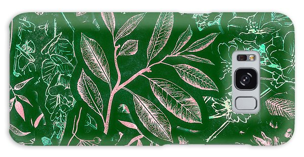 Green Leaf Galaxy Case - Green Composition by Jorgo Photography - Wall Art Gallery