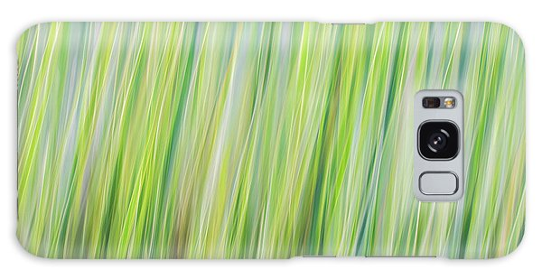 Green Grasses Galaxy Case
