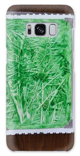 Green Jungle Galaxy Case