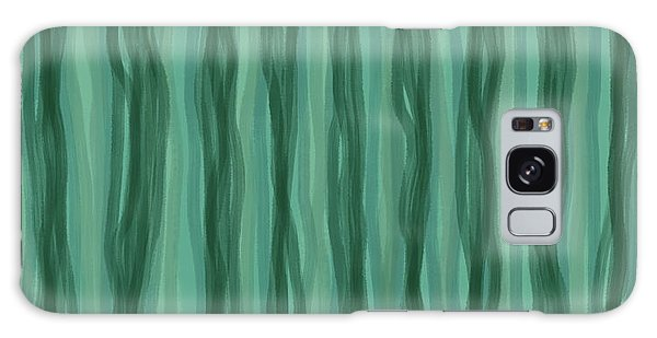 Green Stripes Galaxy Case