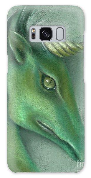 Green Water Horse Unicorn Galaxy Case