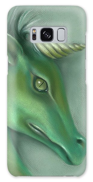 Green Water Horse Unicorn Galaxy Case