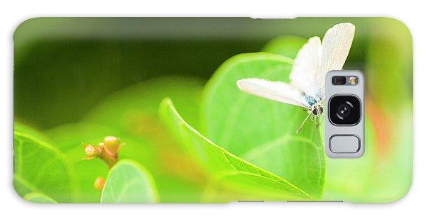 Green Leaf Galaxy Case - Green Wilderness by Jorgo Photography - Wall Art Gallery
