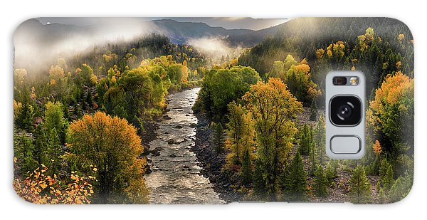 Gros Ventre River Light Galaxy Case