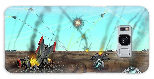 Ground Battle Galaxy Case
