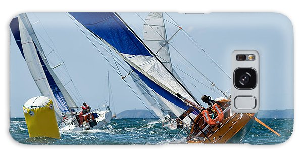 Race Galaxy Case - Group Of Yacht At Race Regatta With by Sainthorant Daniel