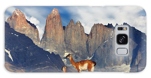 Highland Galaxy Case - Guanaco In Torres Del Paine National by Dmitry Pichugin