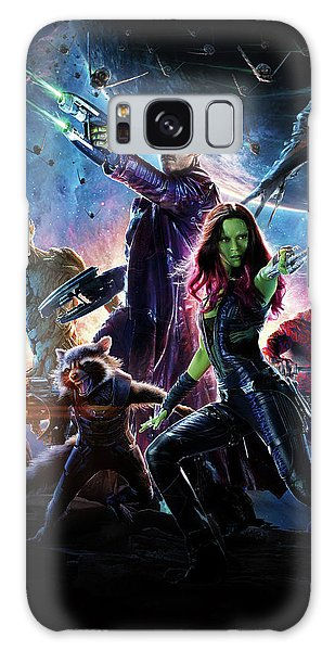 The Avengers Galaxy Case - Guardians Of The Galaxy Textless Poster by Geek N Rock