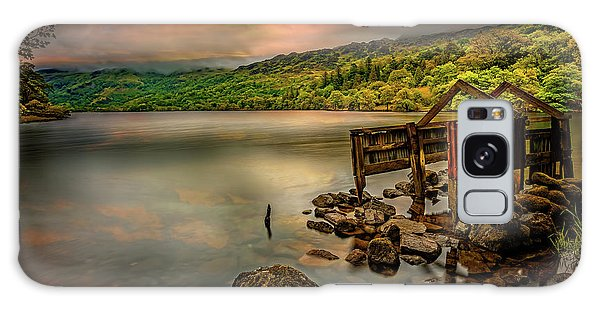 Galaxy Case - Gwynant Lake Old Boat House by Adrian Evans