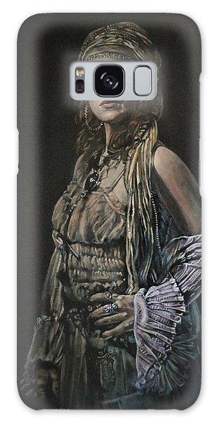 Gypsy Portrait Galaxy Case