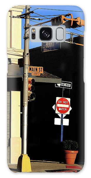 Galaxy Case - Hackensack, Nj - Berry And Main Streets 2018 by Frank Romeo