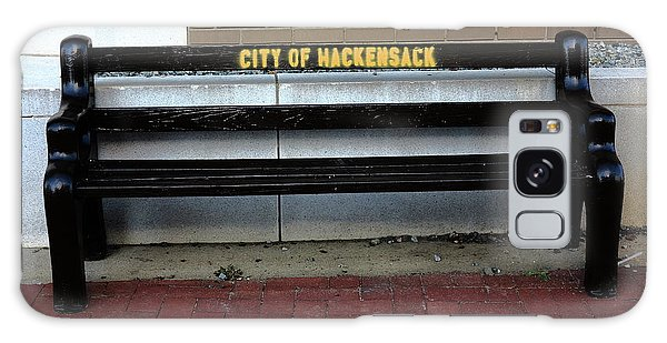 Galaxy Case - Hackensack, Nj - Main Street Bench 2018 by Frank Romeo