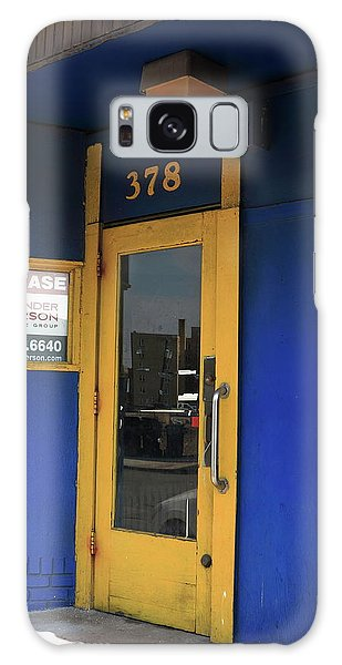 Galaxy Case - Hackensack, Nj -  Yellow Door 2018 by Frank Romeo