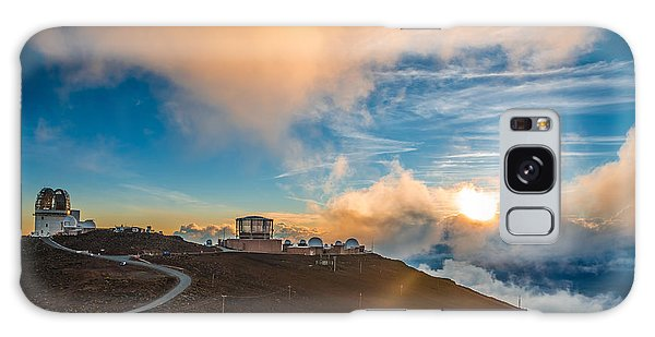 Cloudscape Galaxy Case - Haleakala Crater At Sunset, At by Alexander Demyanenko